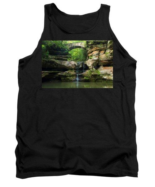 Hocking Hills Waterfall 1 Tank Top
