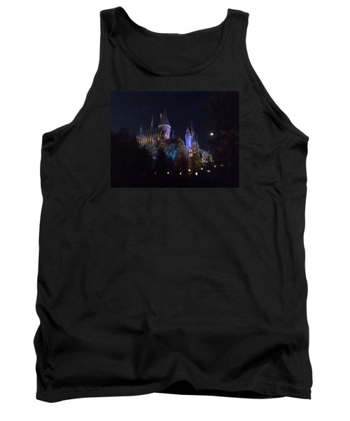 Hogwarts Castle In Lights Tank Top