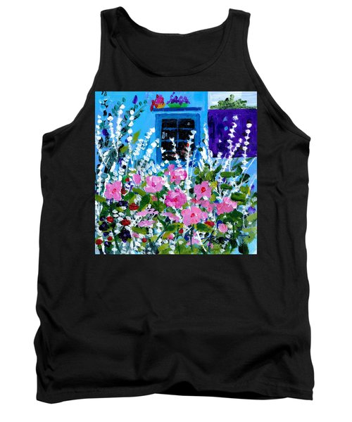 Hollyhock Alley  Tank Top