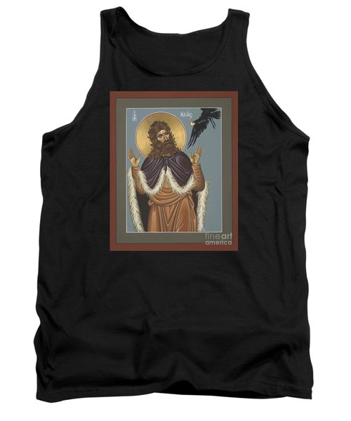 Tank Top featuring the painting Holy Prophet Elijah 009 by William Hart McNichols