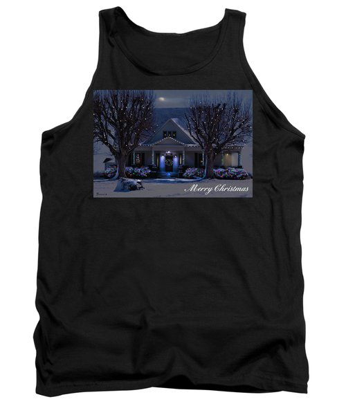 Tank Top featuring the photograph Home For Christmas by Bonnie Willis