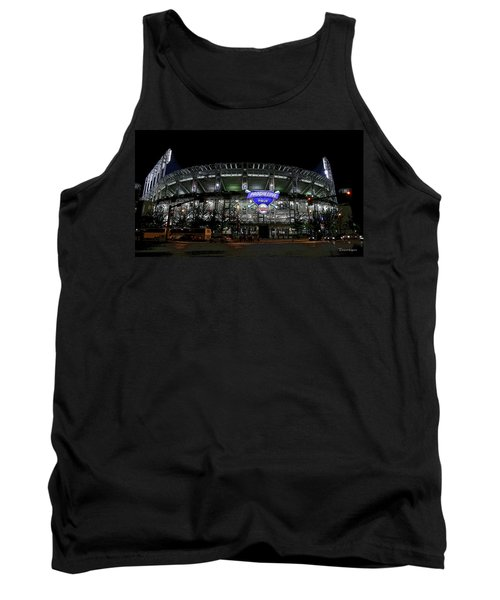 Tank Top featuring the photograph Home Of The Cleveland Indians by Terri Harper