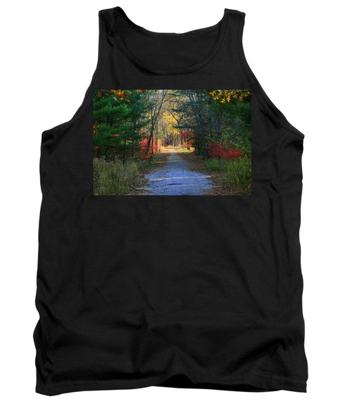 Tank Top featuring the photograph Homeward Bound by Neal Eslinger