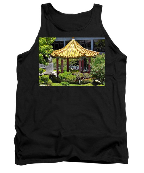 Honolulu Airport Chinese Cultural Garden Tank Top