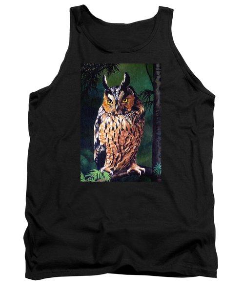 Hoot Owl Tank Top by Vivien Rhyan