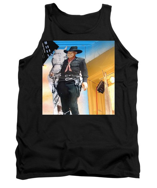 Hopalong Cassidy Cardboard Cut-out Tombstone Arizona 2004 Tank Top