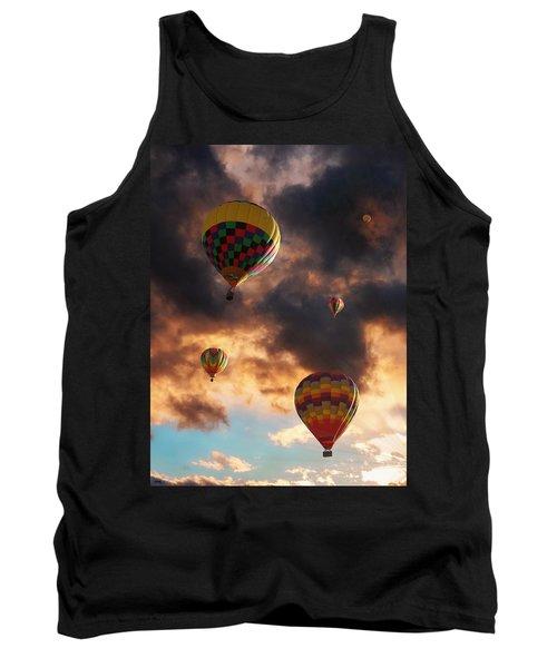 Hot Air Balloons - Chasing The Horizon Tank Top