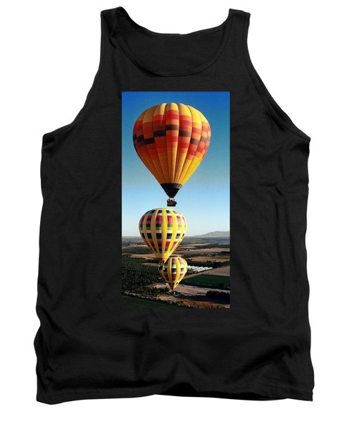 Balloon Stacking Tank Top by Richard Engelbrecht