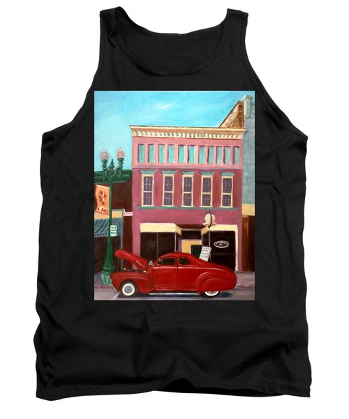 Hot Coffee Tank Top by Stacy C Bottoms