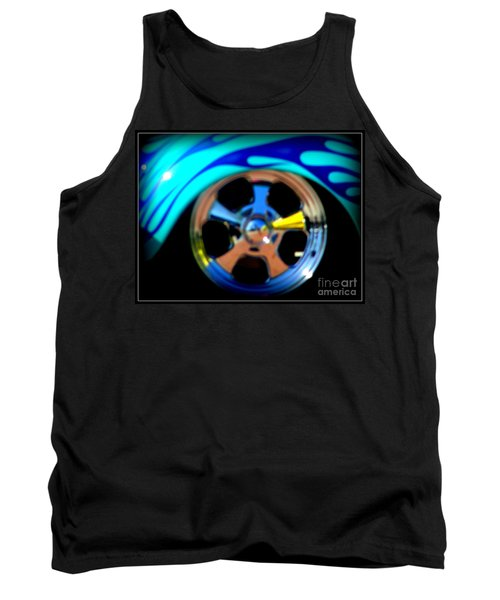 Tank Top featuring the photograph Hot Hot Wheels  by Bobbee Rickard