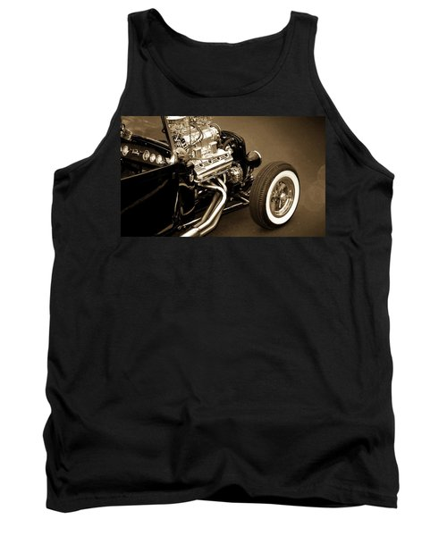 Hot Rod Tank Top featuring the photograph Hot Rod Power  by Aaron Berg