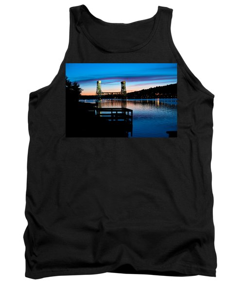 Houghton Bridge Sunset Tank Top
