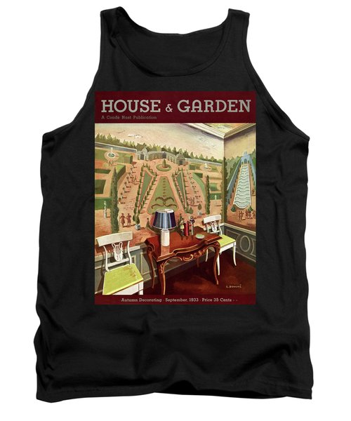 House & Garden Cover Illustration Of 18th Century Tank Top