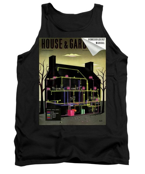 House And Garden Cover Illustration Of The Internal Tank Top