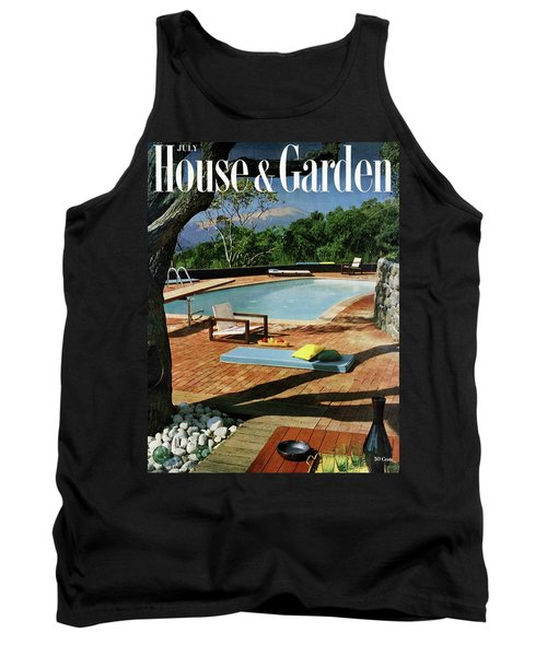 House And Garden Cover Featuring A Terrace Tank Top