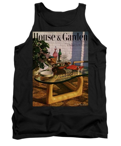 House And Garden Cover Featuring Brunch Tank Top