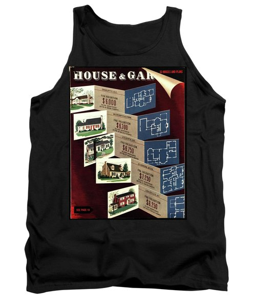 House And Garden Cover Featuring Houses Tank Top