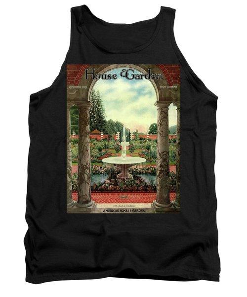 House And Garden Cover Tank Top