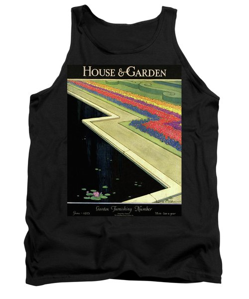 House And Garden Furnishing Number Tank Top