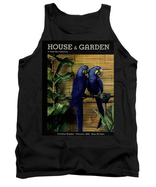 House And Garden Furniture Number Cover Tank Top