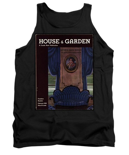 House And Garden Furniture Number Tank Top