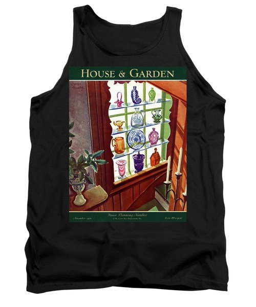 House And Garden House Planning Number Cover Tank Top