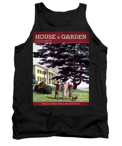 House And Garden Houses For All Tastes Cover Tank Top