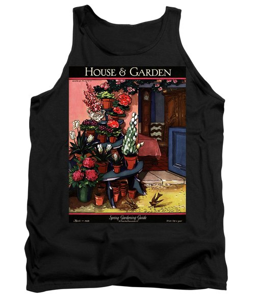House And Garden Spring Gardening Guide Cover Tank Top