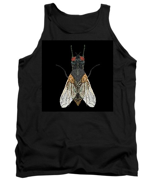 House Fly Bedazzled Tank Top