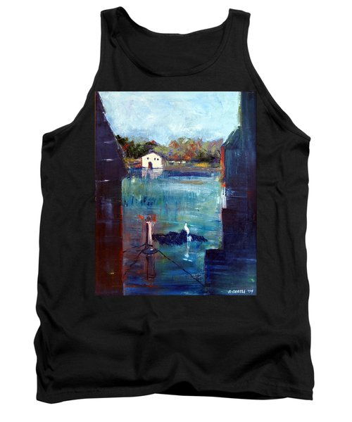 Houseboat Shadows Tank Top
