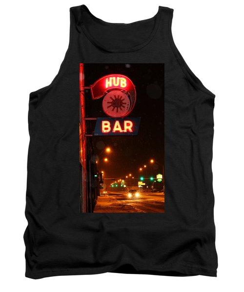 Hub Bar Snowy Night Tank Top