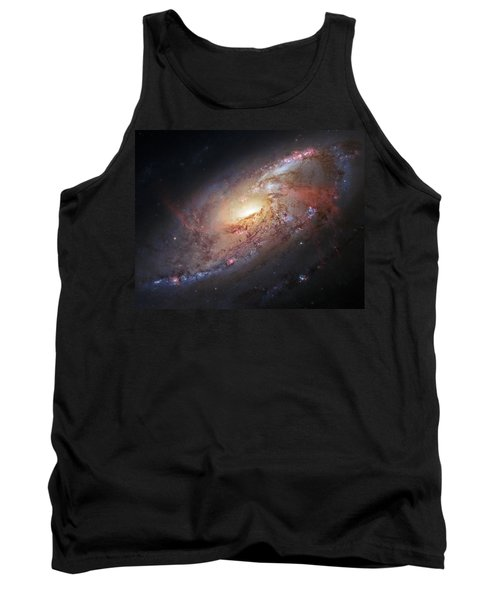 Hubble View Of M 106 Tank Top