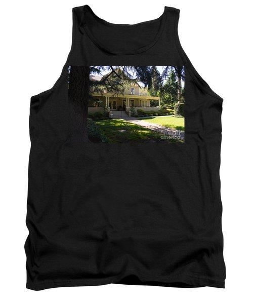 Hudson House At Beringer Winery St Helena Napa California Dsc1715 Tank Top