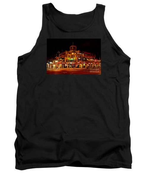 Tank Top featuring the photograph Huntington Beach Downtown Nightside 1 by Jim Carrell