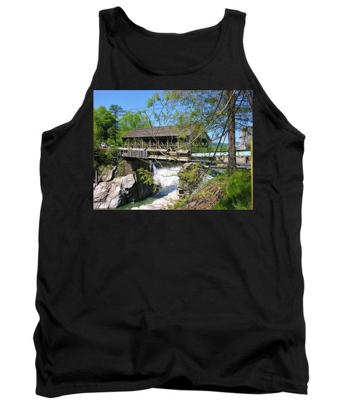 Tank Top featuring the photograph Hurricane Irenes Destruction by Sherman Perry