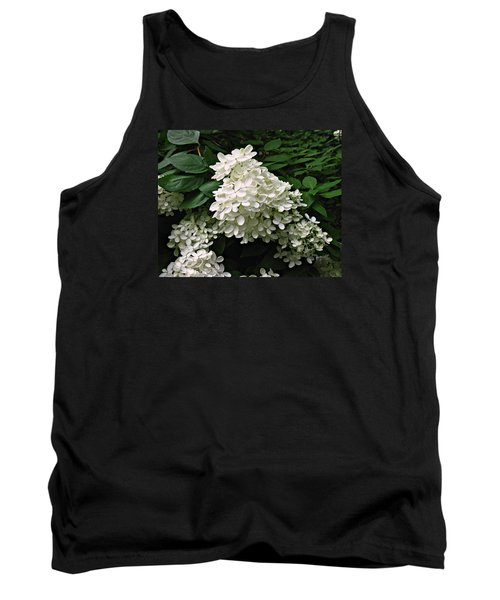 Hydrangea Arborescens ' Annabelle ' Tank Top by William Tanneberger