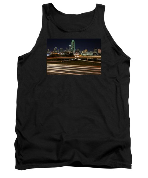 I-35e Dallas Tank Top by Rick Berk