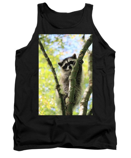 I Don't Want To Come Down Tank Top by Kym Backland