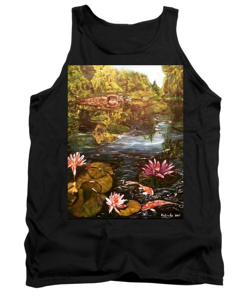 Tank Top featuring the painting I Want To Be Where You Are by Belinda Low