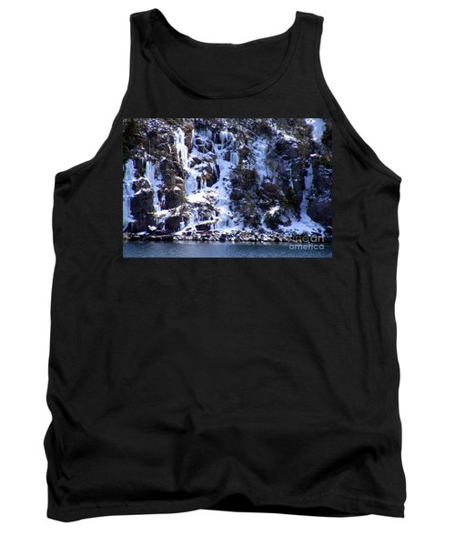 Icicle House Tank Top by Barbara Griffin