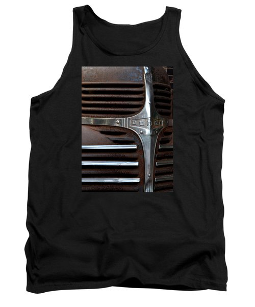 Tank Top featuring the photograph Iconic Dodge Truck by Nadalyn Larsen