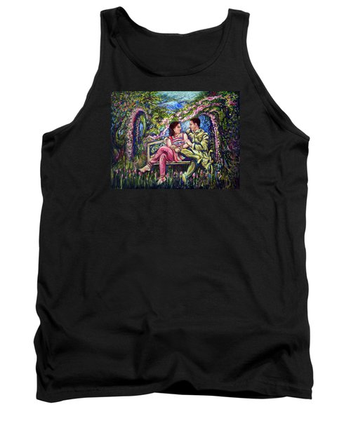 Tank Top featuring the painting If I Will Get Your Love by Harsh Malik