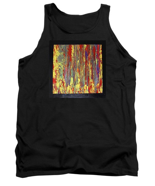 Tank Top featuring the painting If...then by Michael Cross
