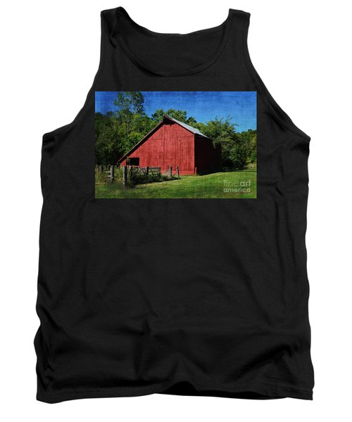 Illinois Red Barn 2 Tank Top