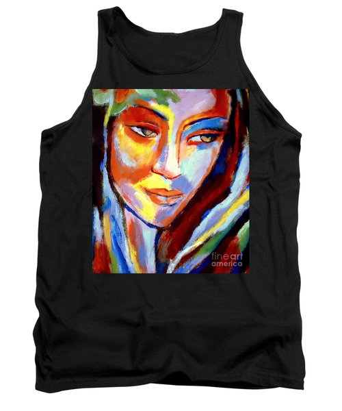 Tank Top featuring the painting Immersed by Helena Wierzbicki
