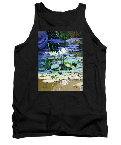 Impressions Of Sunlight Tank Top by John Lautermilch