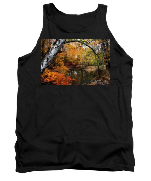 In Dreams Of Autumn Tank Top by Kay Novy