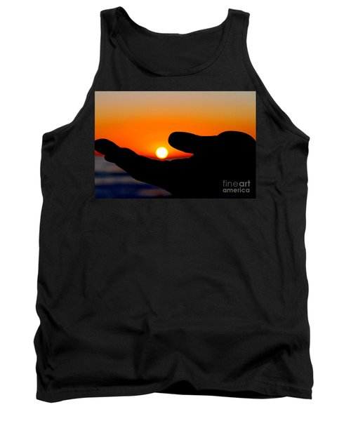 In His Hands By Diana Sainz Tank Top