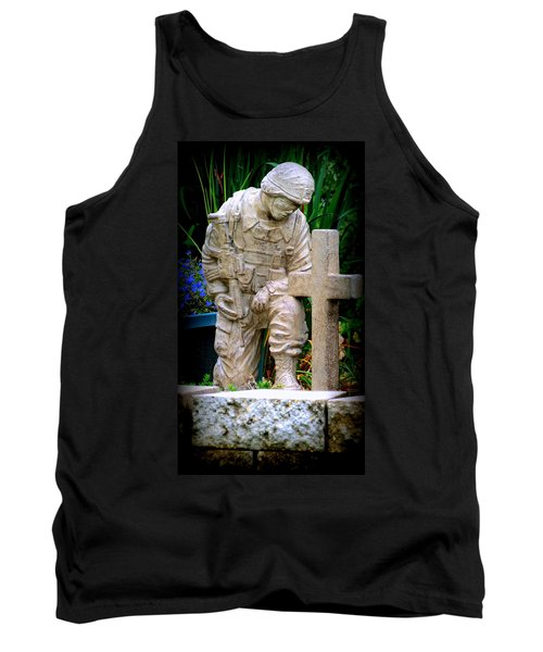 In Honor Of The Wounded Warrior Tank Top