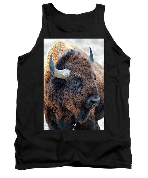 In The Presence Of  Bison - Yes Paint Him Tank Top